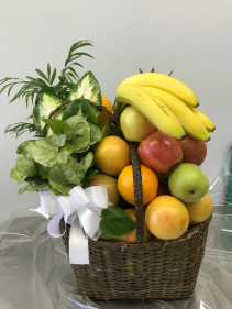 Delicious Fruit With A Plant