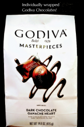 Large Bag - Godiva Dark Chocolates!