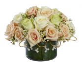 DELIGHT HER 34 Roses in a Bowl
