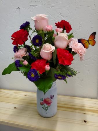 Delightful Blooms Arrangement
