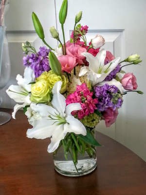 Delightful Blooms Flower Arrangement in Newport, RI   BELLEVUE FLORIST