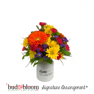 * SOLD OUT* Delightful Daisies Bud & Bloom Signature Arrangement