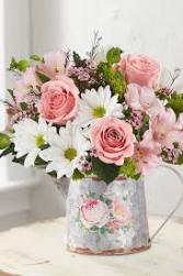 Delightful Day™ Bouquet All-around arrangement