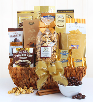 Delightful Decadence Chocolate Gift Basket .WG5876-N