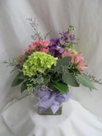 Delightful Fresh Vased Arrangement