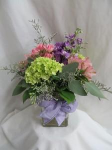 Delightful Fresh Vased Arrangement in Farmville, VA | CARTERS FLOWER SHOP