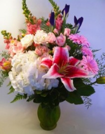 Delightful Garden Bouquet Vase
