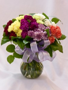 DELIGHTFUL GEM - CARNATIONS Carnations Arrangements, Shop Flowers, Gifts Teddy Bears or Chocolates for Delivery