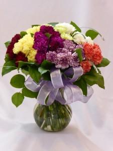 DELIGHTFUL GEM - CARNATIONS Carnations Arrangements