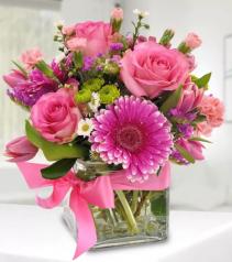 Delightful in Pink Arrangement