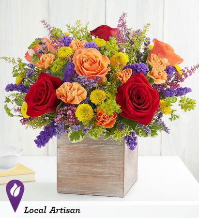 Delightful Joy™ Bouquet Flower Arrangement