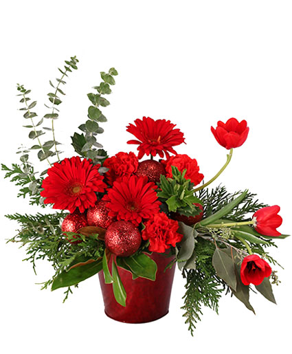 Delightful Red Dream Christmas Arrangement