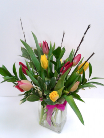 Delightful Tulips  Fresh Arrangement