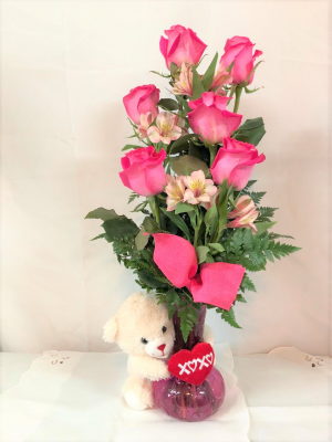 Delightfully Pink Valentine's Day in Crestview, FL | The Flower Basket Florist