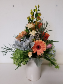 Delta Dawn Vase