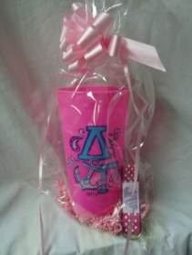 DELTA GAMMA TUMBLER AND KEYCHAIN! LIMITED SUPPLY