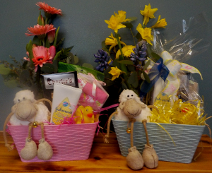 Deluxe Baby Boy or Girl Basket Deluxe Baby Boy or Girl Basket in Abbotsford, BC   BUCKETS FRESH FLOWER MARKET