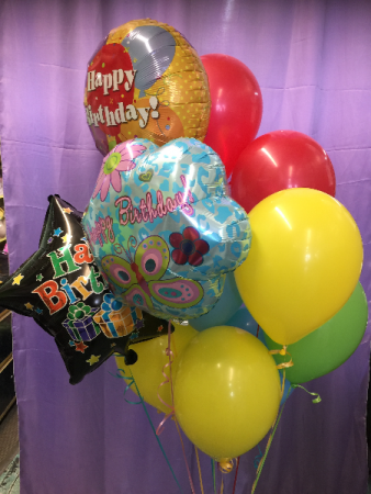 Deluxe Balloon Bouquet Birthday/Anniversay