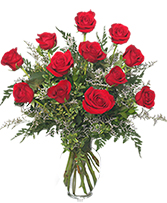 Deluxe Dozen Roses  in Moore, Oklahoma | A New Beginning Florist