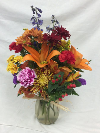 Deluxe Fall Vase