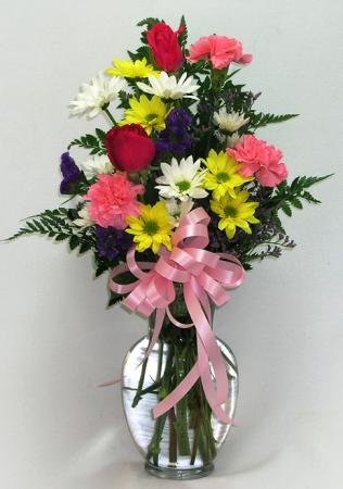 Deluxe Fresh Flower Vase
