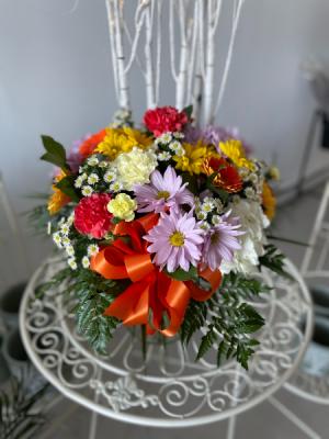 Deluxe Mixed Vase Flower in Gander, NL   Loretta's Flower World
