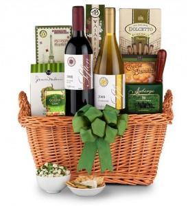 Deluxe NYS Wine & Gourmet Gift Basket in Whitesboro, NY | KOWALSKI FLOWERS INC.