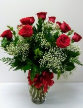 Deluxe Red Roses Valentines