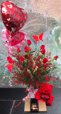 Deluxe Rose Package  in Lake Worth, FL | AST FLOWERS INC DBA A FLOWER PATCH