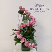 Deluxe Rose twist Vase Arrangement