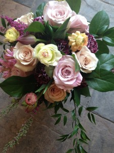 Rose Garden Vase Arrangement in Toronto, ON | BOTANY FLORAL STUDIO