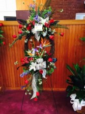 deluxe tropical wreath