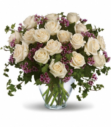 Deluxe White Roses bouquet