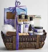 Denarii Lavender Spa Basket Gift Basket