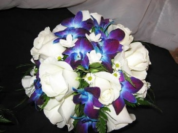 Dendro Bridal Bouquet Posy Style
