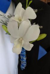 Dendrobium Orchid Bouttonniere
