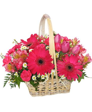 DESEANDOTE LO MEJOR Canasta Floral