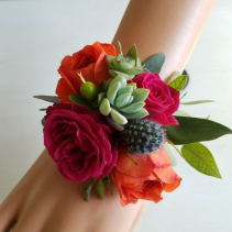 Desert Party Wrist Corsage