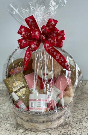 Desert Rose Valentine Gift Basket