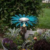 Desert Steel Solar Light Teal