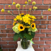 Deserves Sunshine Vase