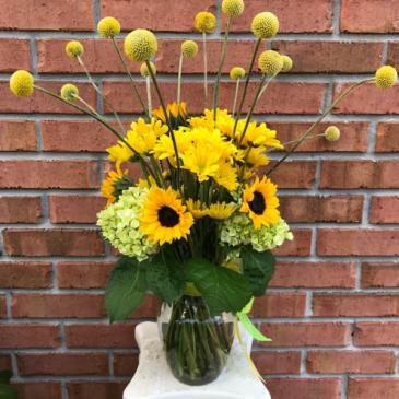 Deserves Sunshine Vase