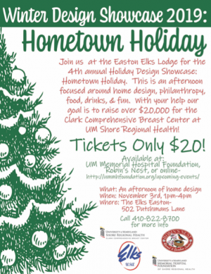Design Showcase 2019: Hometown Holiday   in Easton, MD | ROBINS NEST FLORAL AND GARDEN CENTER