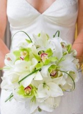 Designed Wedding Bouquet Fresh Flowers