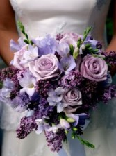Designed Wedding Bouquet Fresh/Silk Flowers