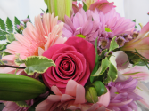 Mother's Day Mix Designer Bouquet  Fresh Arrangement