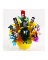 Designer choice candy bouquet