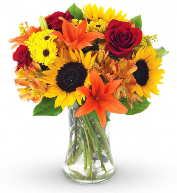 Designer Choice Fall Vase