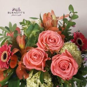 Designer Choice Handtied  (No Vase)  Hand-tied Bouquet  in Kelowna, BC | Burnett's Florist