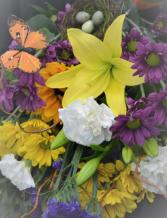DESIGNER CHOICE - NATURE LOVER FRESH FLOWER ARRANGEMENT